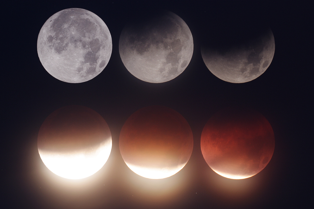 Lunar eclipse of December 10, 2011. Click the image for a larger version.
