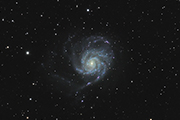 M101 with an FLI ML11002-C and Takahashi TOA-150