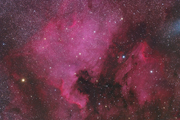North America and Pelican Nebulae with an FLI ML11002-C and Takahashi FSQ-106ED X-III
