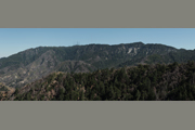 Panoramic photo from the north side of Mt. Wilson